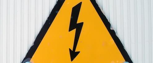 Waarschuwing voor stroomstoring